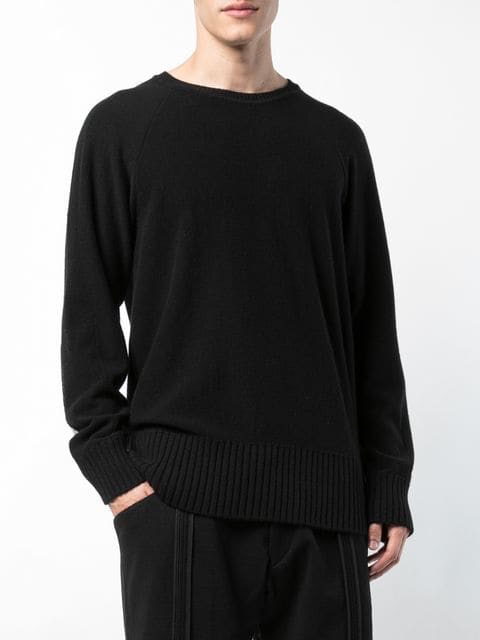 ZIGGY CHEN MEN RIB COMBO SWEATER