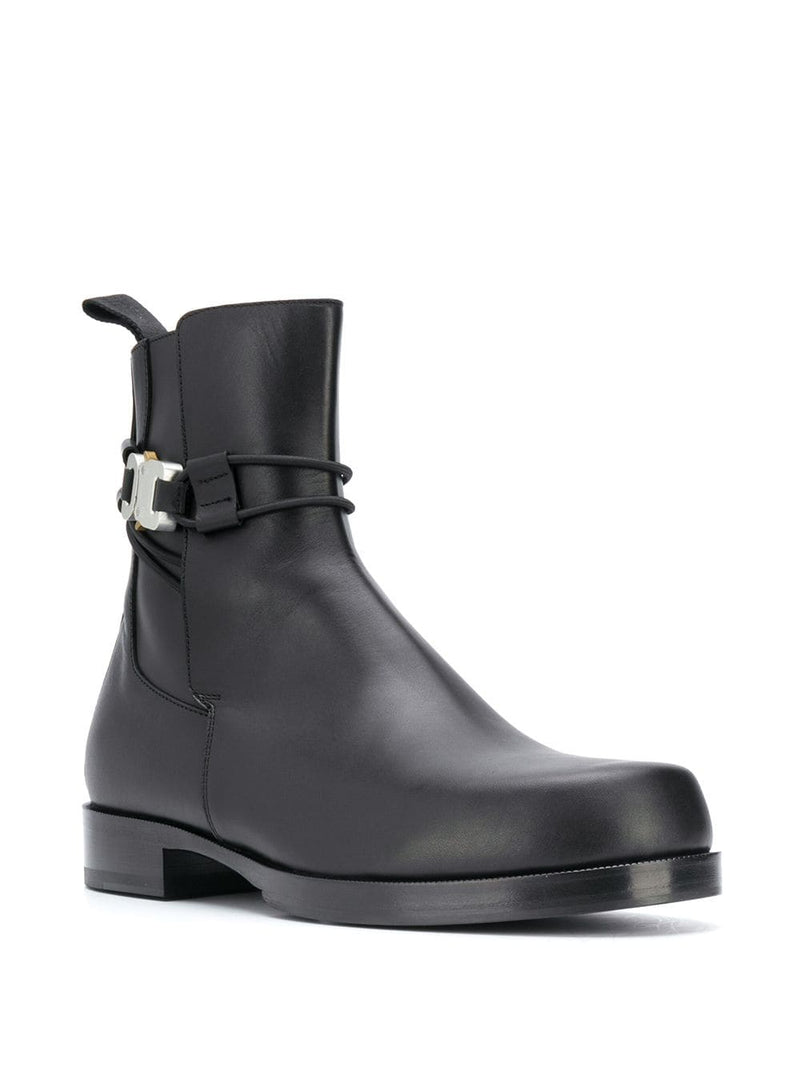 1017 ALYX 9SM MEN LOW BUCKLE BOOT WITH LEATHER SOLE