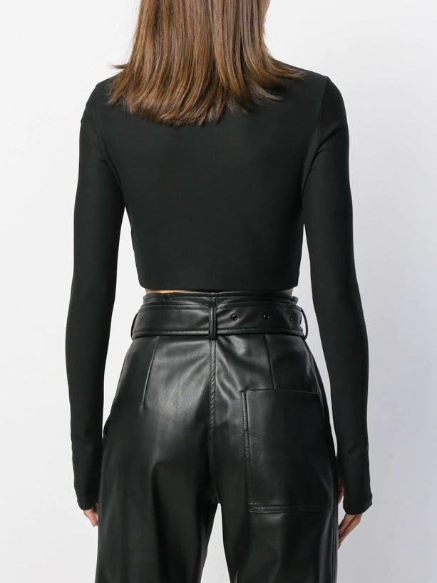 PACO RABANNE WOMEN CROP JACKET
