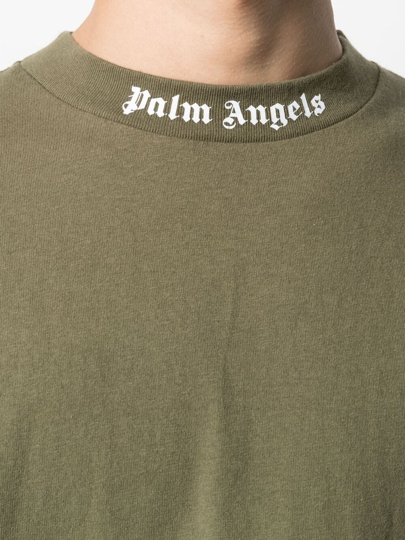 PALM ANGELS MEN CLASSIC LOGO OVER TEE
