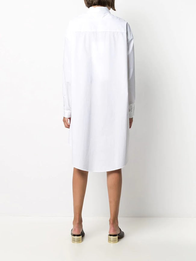 MM6 WOMEN OVERSIZED FIT SHIRT DRESS