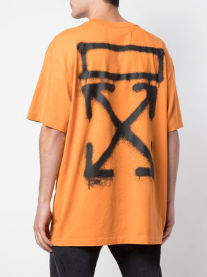 OFF-WHITE MEN SPRAY PAINTING S/S OVER TEE