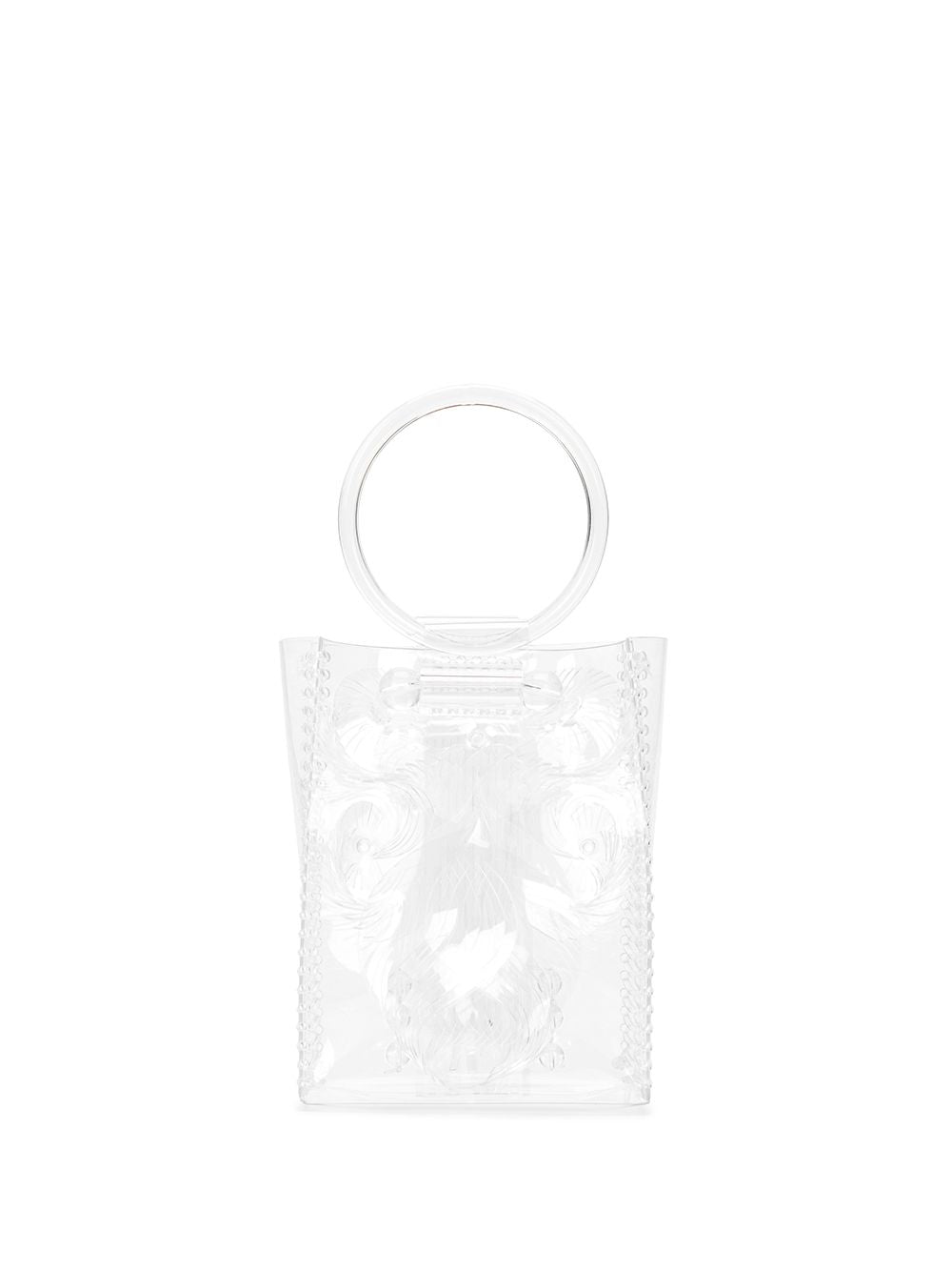 MAME KUROGOUCHI WOMEN MINI VINYL TOP HANDLE TOTE BAG