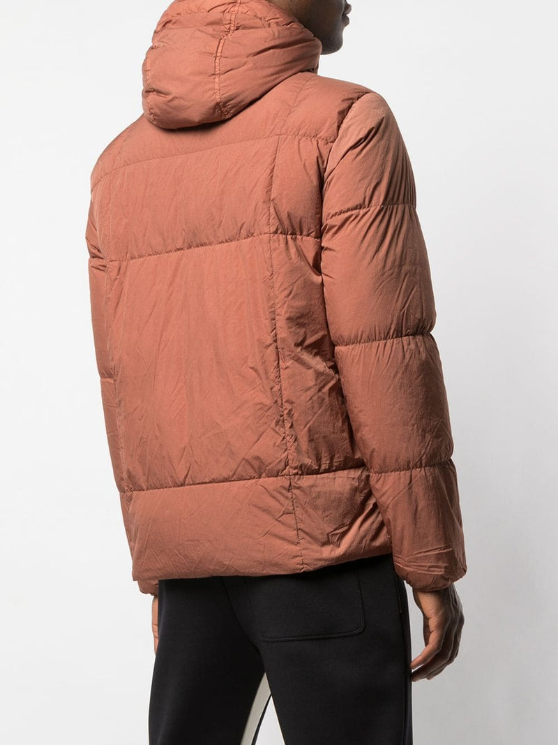 STONE ISLAND MEN GARMENT DYED CRINKLE REPS NY DOWN JACKET