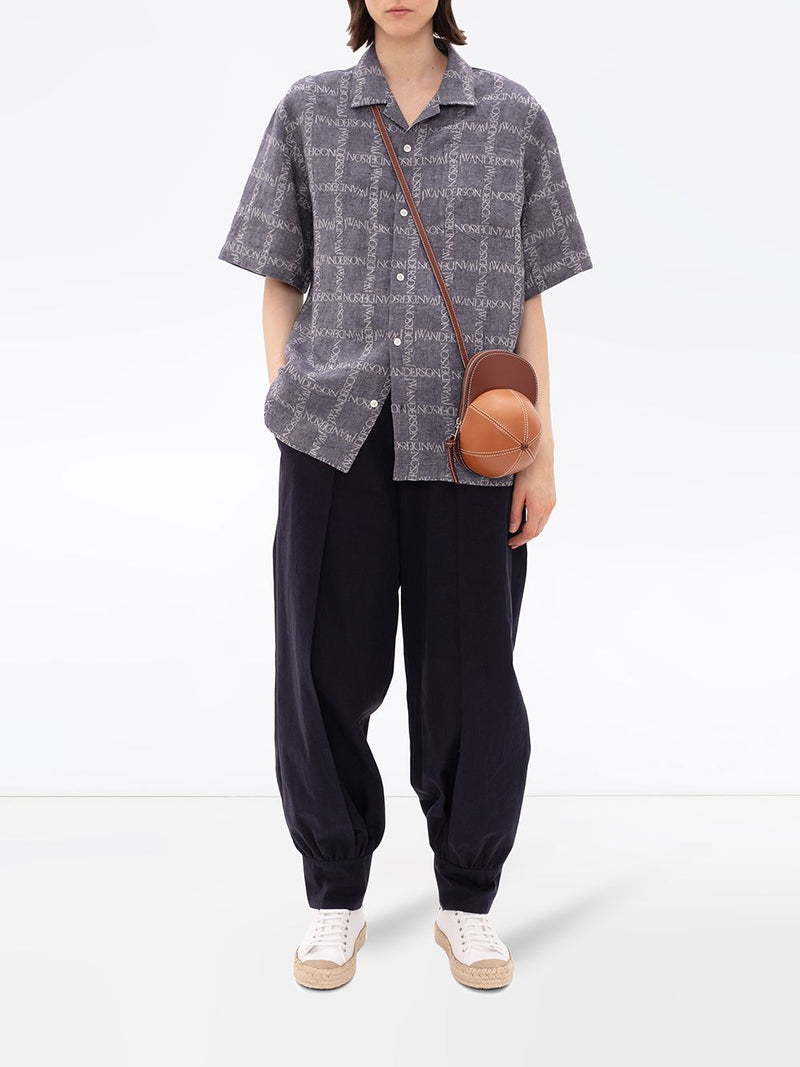 JW ANDERSON WOMEN SHORT SLEEVE SHIRT