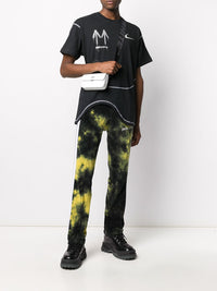 OFF-WHITE CRINKLED MEN CROSSB FLAP
