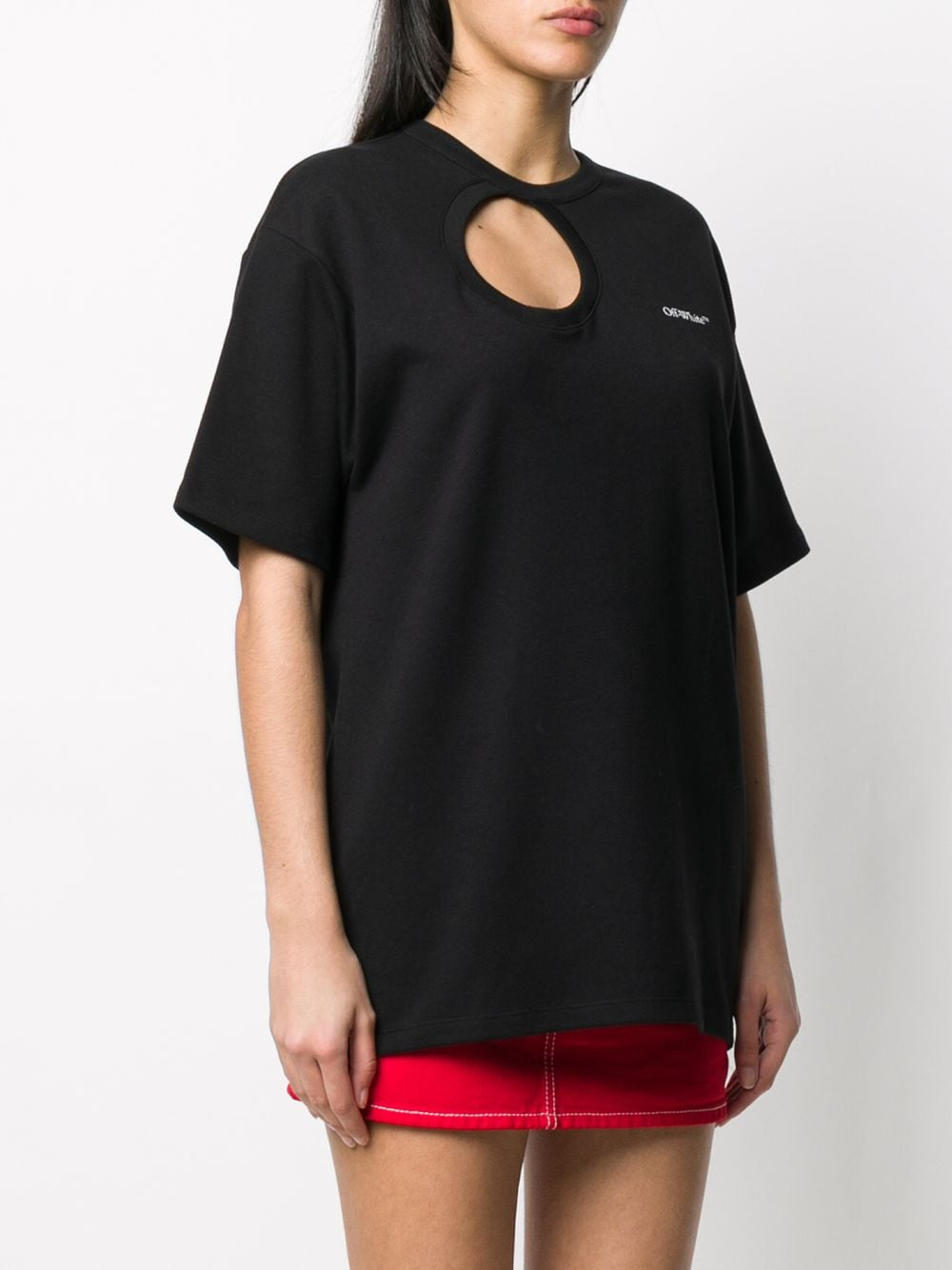 OFF WHITE WOMEN METEOR TOMBOY T-SHIRT