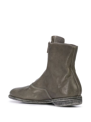 GUIDI MEN 210 SHORT FRONT ZIP MILITARY BOOT