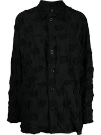 Y'S WOMEN ROBE DRAWING BLOCK SHIRT