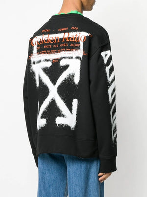OFF-WHITE MEN CARTOON INCOMPIUTO CREWNECK