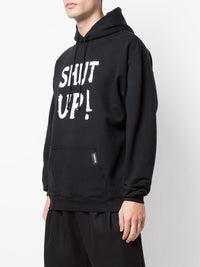VETEMENTS MEN SHUT UP HOODIE