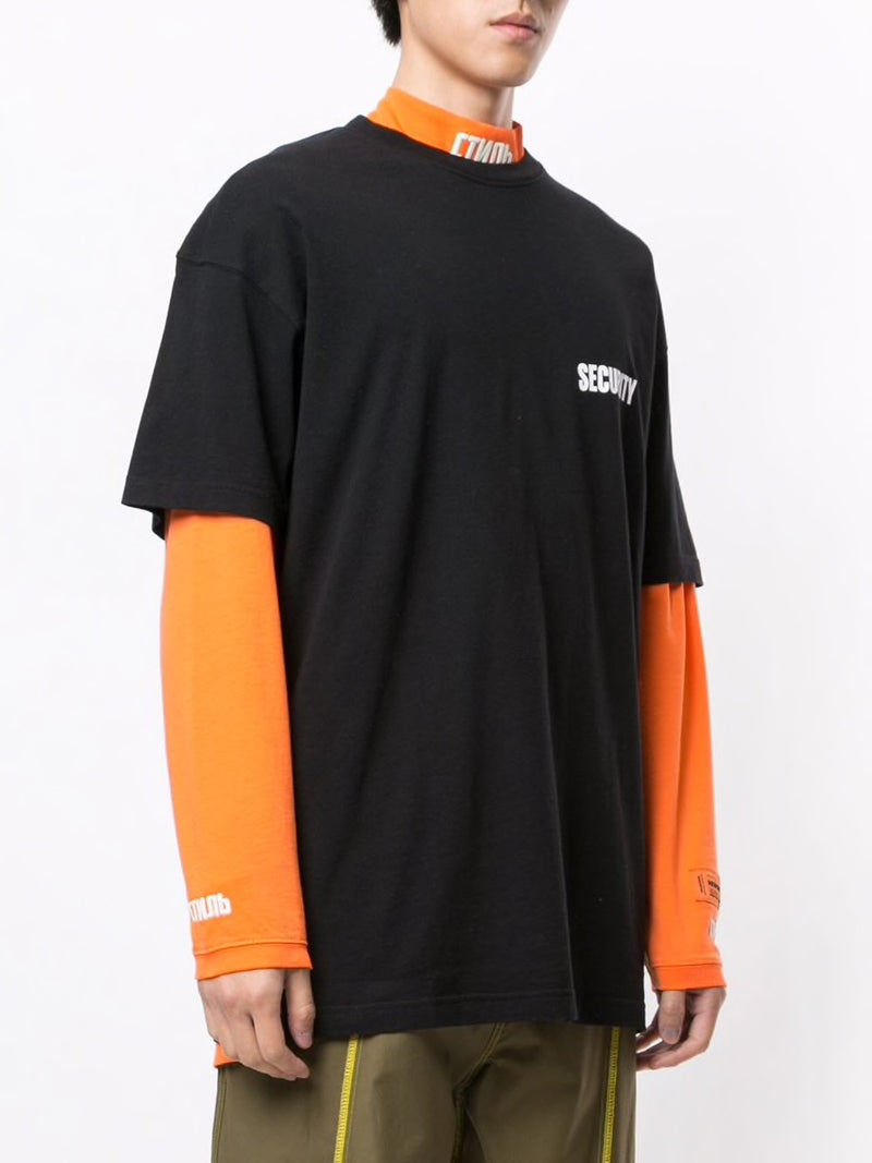 VETEMENTS UNISEX  SECURITY T-SHIRT