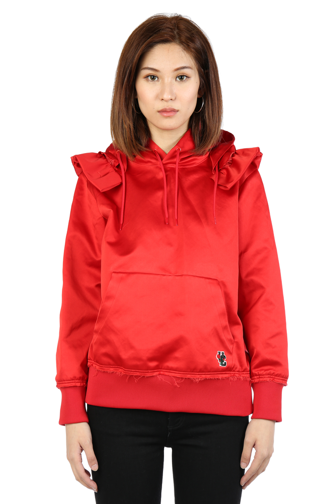 UNDERCOVER WOMEN RED RIDING HOOD POCKET BAG HOODIE