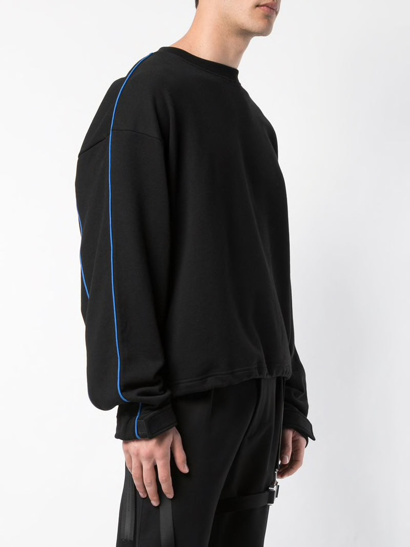 UNRAVEL PROJECT MEN TERRY OVER SIDE PANEL TOP