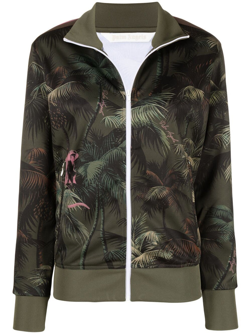 PALM ANGELS WOMEN JUNGLE TRACK JACKET