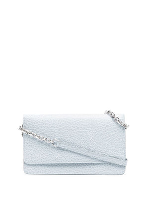 MAISON MARGIELA WOMEN LEATHER CHAIN SHOULDER BAG