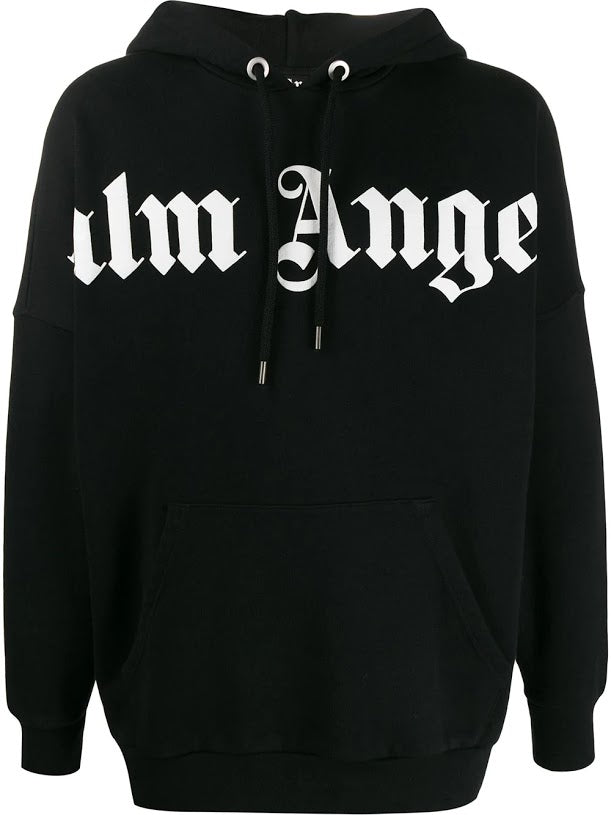 PALM ANGELS MEN FRONT OVER LOGO HOODIE
