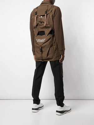 UNDERCOVER MEN DUFFLE BAG FUSIONED JACKET