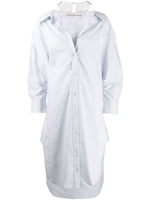 ALEXANDER WANG WOMEN FALLING BUTTON DOWN SHIRTDRESS