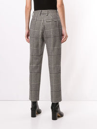 MM6 WOMEN HOUNDSTOOTH CHECK PANTS