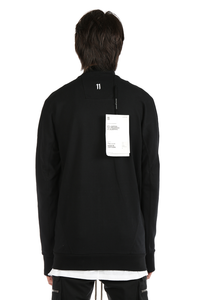 11 BY BORIS BIDJAN SABERI MEN LOGO AND TYPE ZIP UP TRACK JACKET