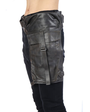 DEEPTI LEATHER WAIST BAG