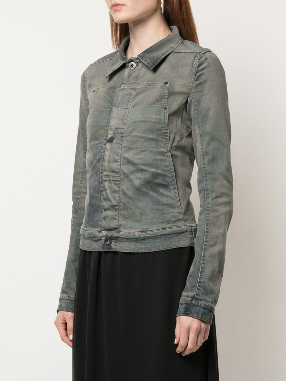 RICK OWENS DRKSHDW WOMEN LAB JACKET