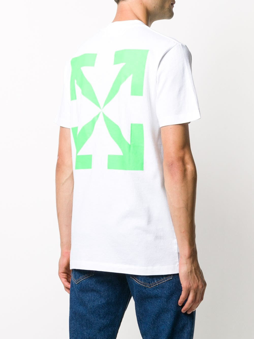 OFF-WHITE MEN PASCAL PRINT S/S SLIM TEE