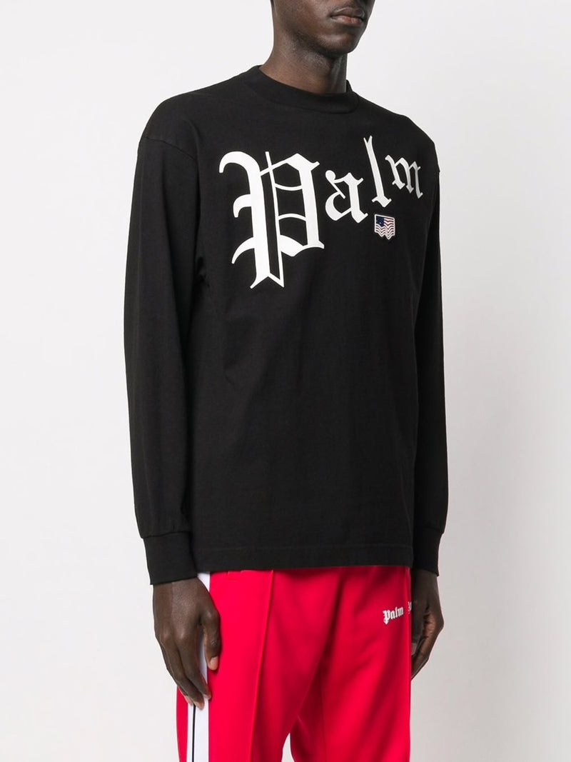 PALM ANGELS NEW GOTHIC L/S TEE