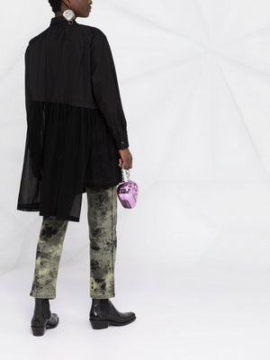 COMME DES GARCONS WOMEN CHIFFON BOTTOM SHIRT