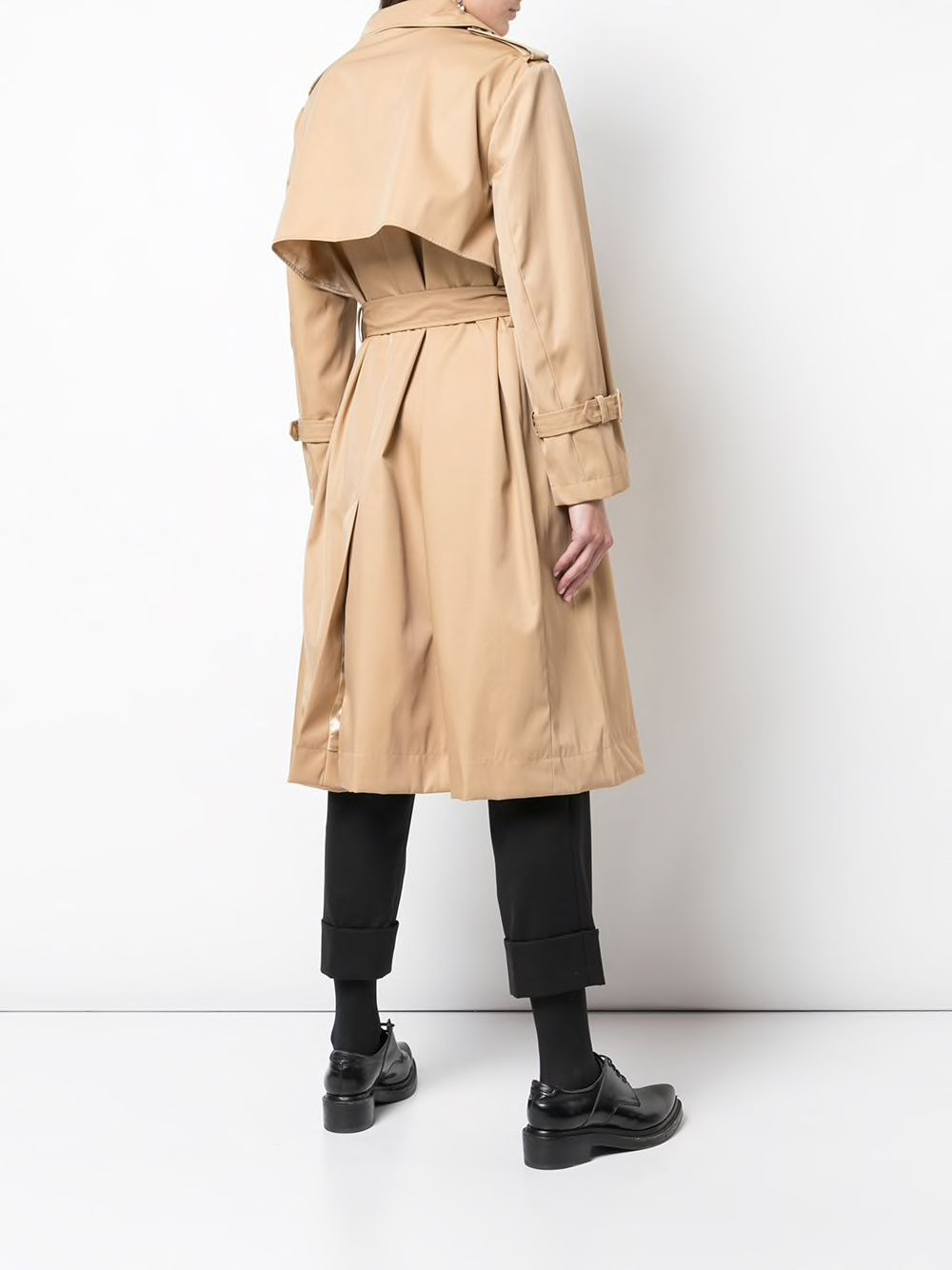 SIMONE ROCHA WOMEN BUSTIER TRENCH COAT