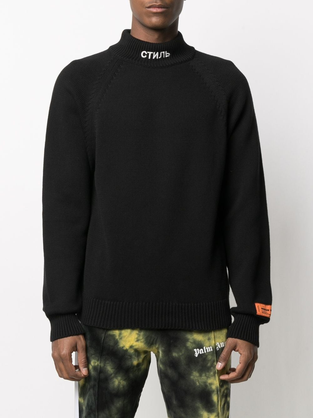 HERON PRESTON MEN KNIT CTNMB TURTLE NECK