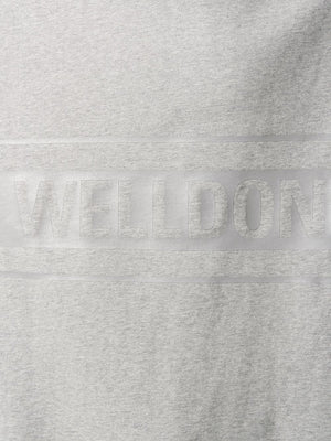 WE11DONE UNISEX REFLECTIVE LOGO PULLOVER