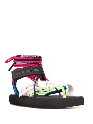 OFF WHITE WOMEN MULTISTRAP MICRO SANDAL