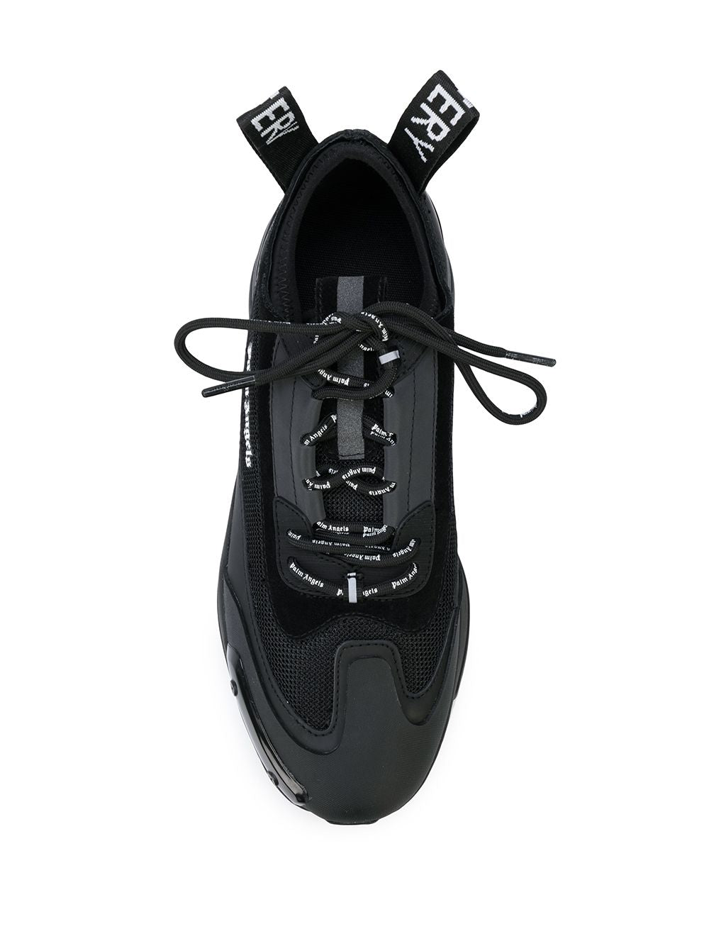 PALM ANGELS MEN RECOVERY LACE UP SNEAKERS