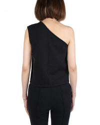 VETEMENTS WOMEN ASYMMETRIC TOP