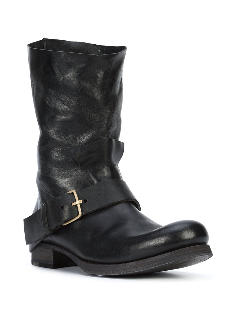 MA+ MEN HORSE LEATHER TALL BUCKLE BOOT