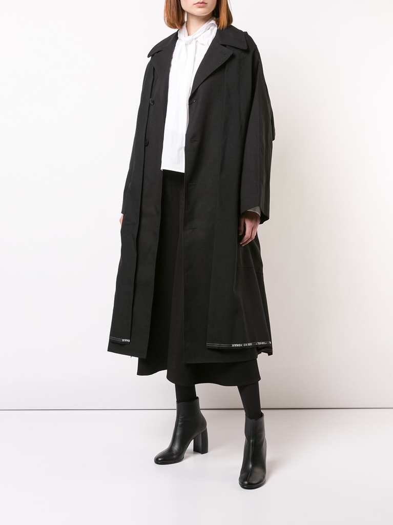 Y'S WOMEN COAT WITH HAORI