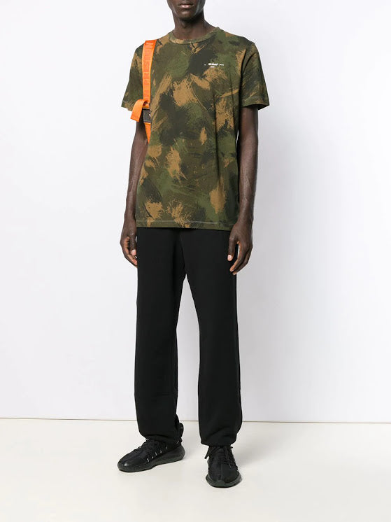 OFF-WHITE MEN UNFINISHED SLIM SWEATPANT
