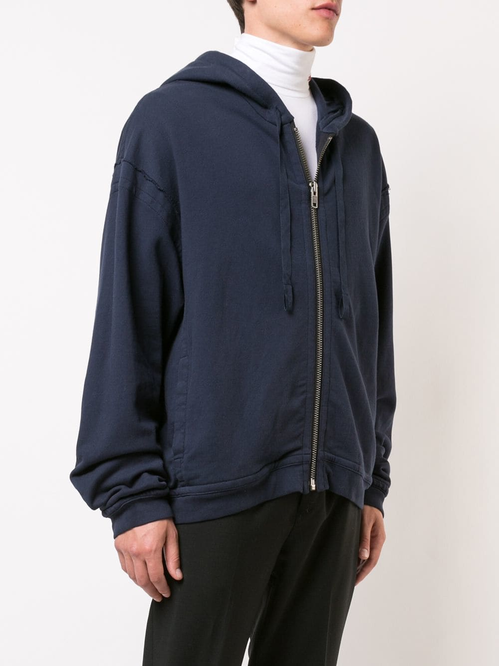 HAIDER ACKERMANN MEN PERTH PRINT ZIPPER HOODIE