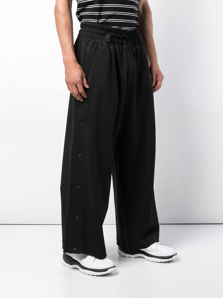 Y-3 MEN 3 STRIPE SNAP PANTS