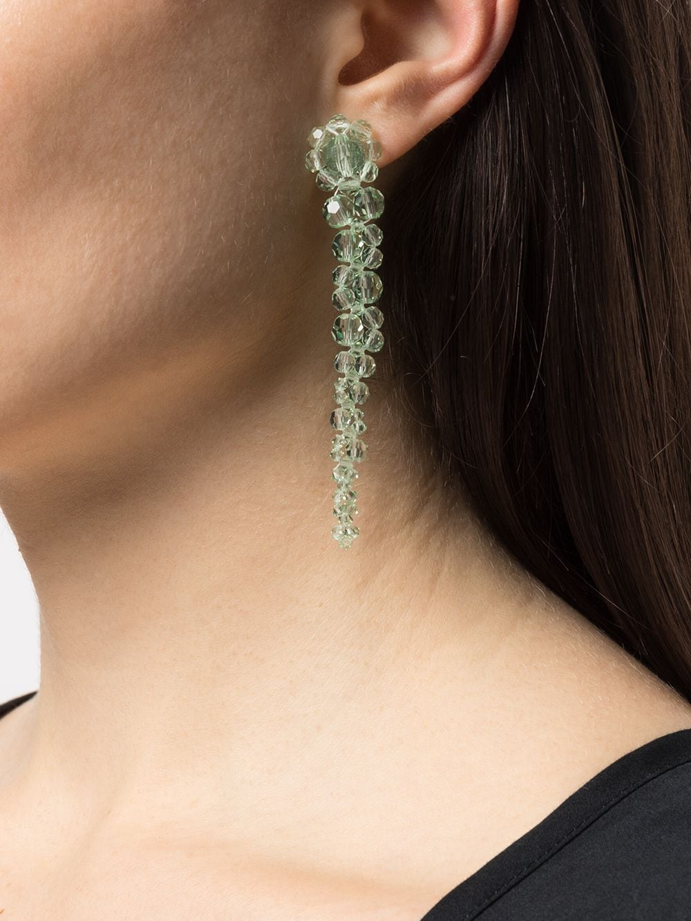 SIMONE ROCHA WOMEN MINI DRIP WITH STUD EARRING