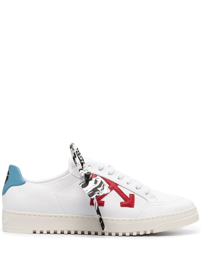 OFF-WHITE MEN 2.0 SNEAKER CALF LEATHER WHITE RED