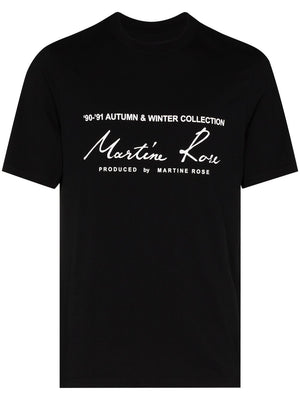 MARTINE ROSE MEN CLASSIC SHORT SLEEVE T-SHIRT
