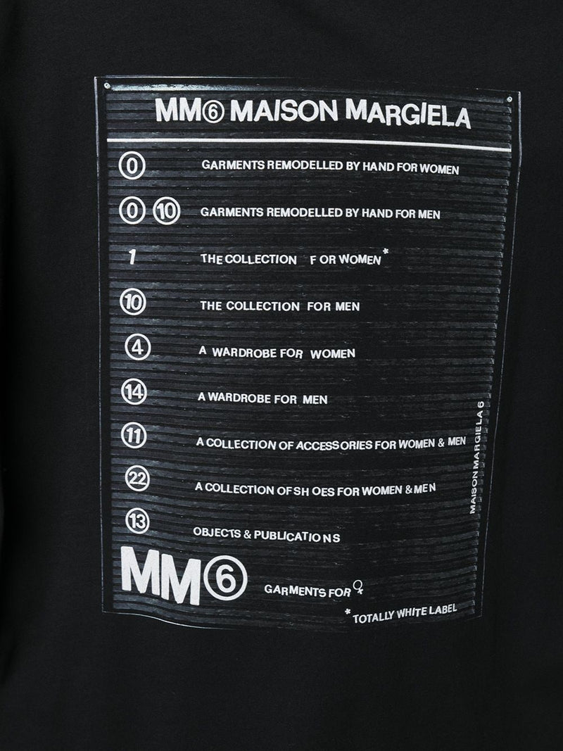 MM6 WOMEN LOGO PRINTED T-SHIRT