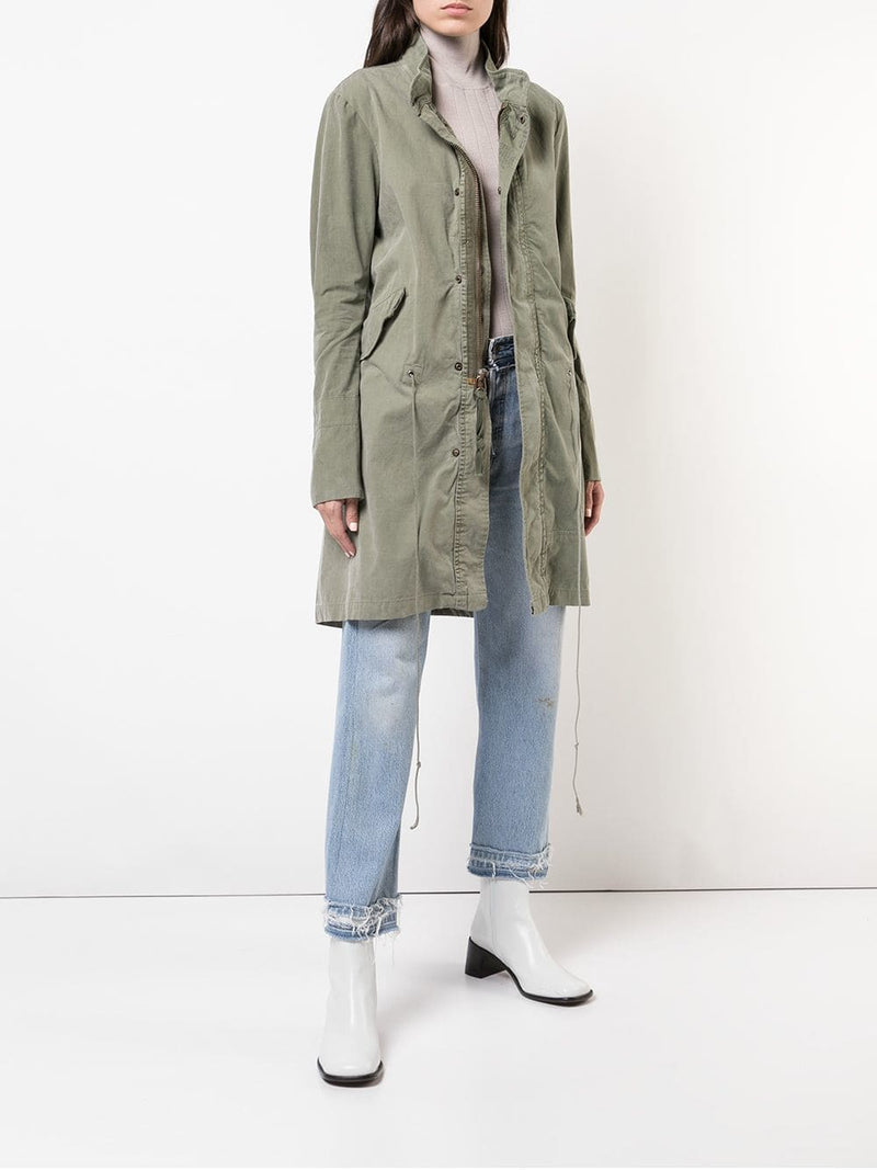 GREG LAUREN WOMEN ARMY FISHTAIL E-1 JACKET W018 FWBI