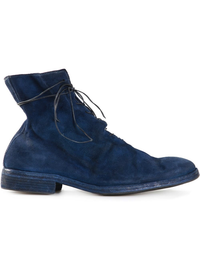 GUIDI MEN STAG REVERSE LINED SOLE LEATHER
