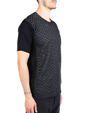 LABEL UNDER CONSTRUCTION MEN DIGITAL KNIT #2 T-SHIRT