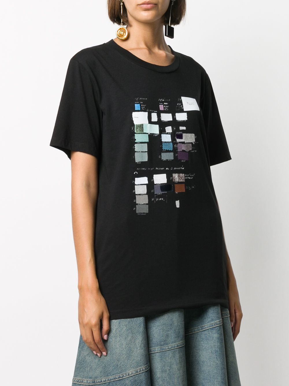 MM6 WOMEN SWATCH PRINT T-SHIRT