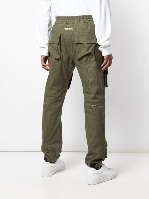 READYMADE MEN VINTAGE MILITARY TENT FIELD PANTS